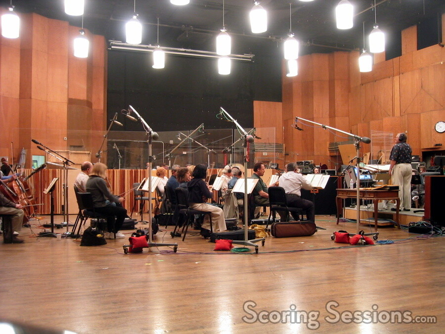 alf clausen conducts the hollywood studio symphony at the newman scoring stage - Alf Halloween Episode