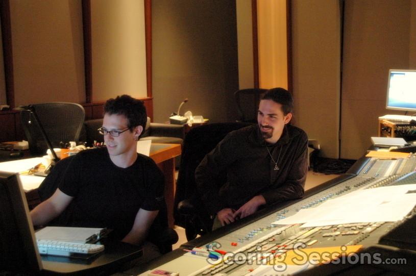 Scoring mixer Steve Kaplan and composer Bear McCreary
