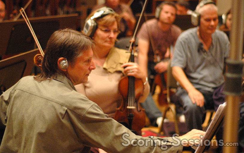 Concertmaster Peter Kent and Belinda Broughton