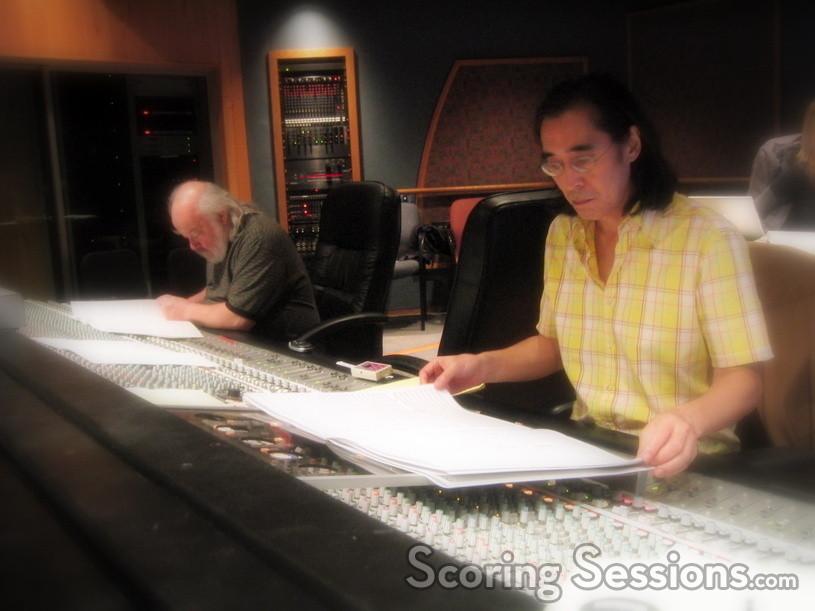 Orchestrator Ladd McIntosh and score mixer Joel Iwataki