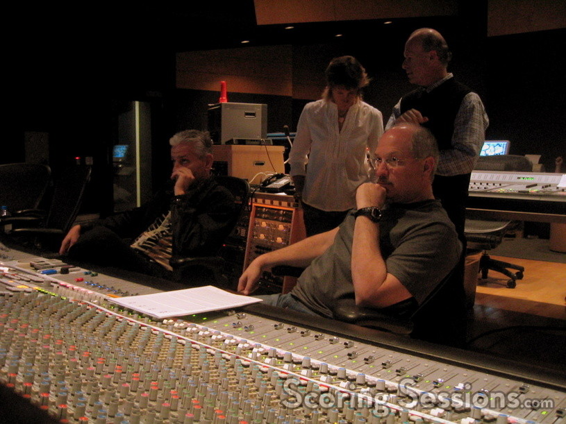 Orchestrator Jerry Hey and mixer Dennis Sands