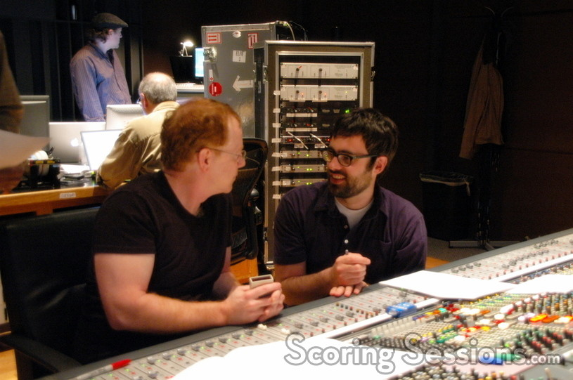 Danny Elfman with director Jared Hess