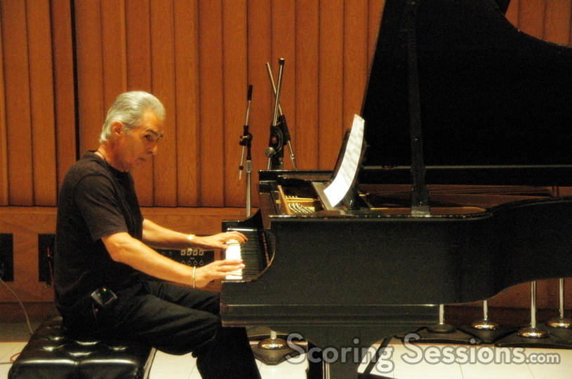 Bill Conti performs the piano on <i>Rocky Balboa</i>