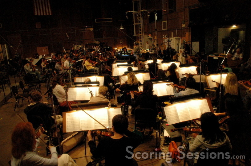 The Hollywood Studio Symphony strings