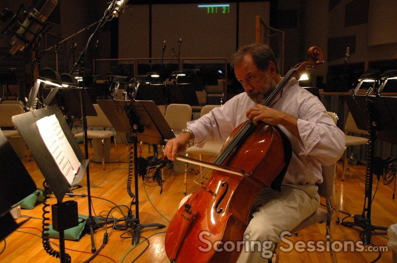 Steve Erdody performs cello solos on <i>August Rush</i>