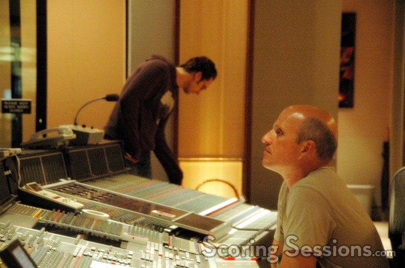 Brad Haehnel records <i>Breach</i> at the Eastwood Scoring Stage