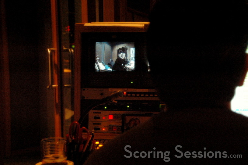 The control booth keeps a watchful eye on Doering