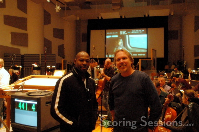 Director Antoine Fuqua and Composer Mark Mancina