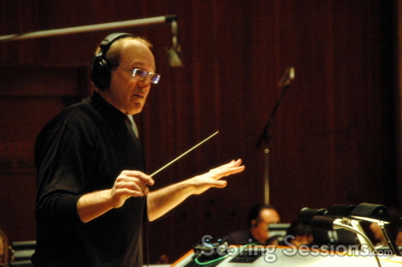 William Ross conducts the orchestra