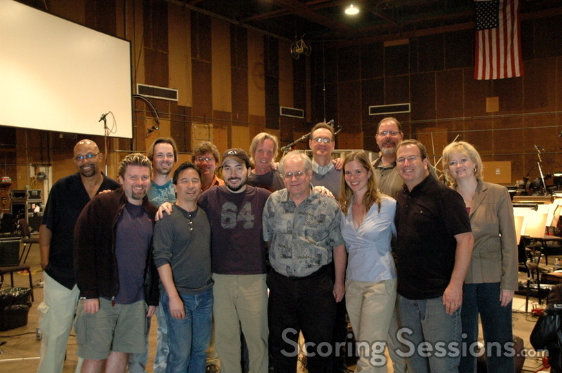 The <i>Transformers</i> music team