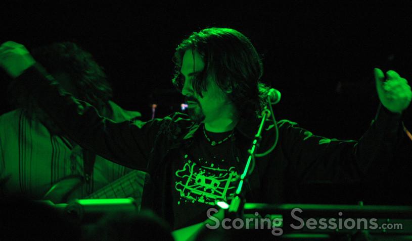 Bear McCreary conducts music from Battlestar Galactica.