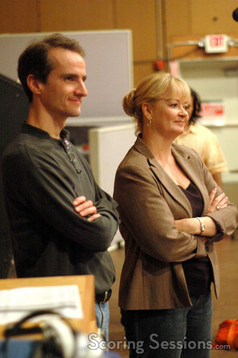 Orchestrator Andrew Kinney and contractor Sandra Kipp