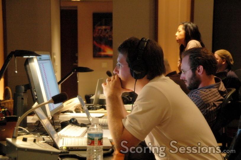 Music editors Alex Levy and Paul Apelgren