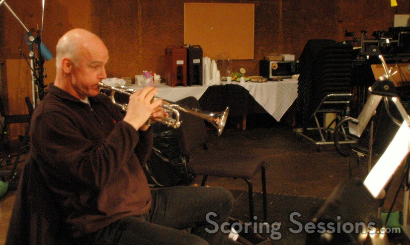 Trumpet player Tim Morrison