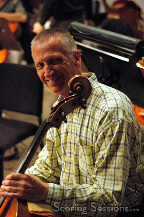 Cellist Tony Cooke