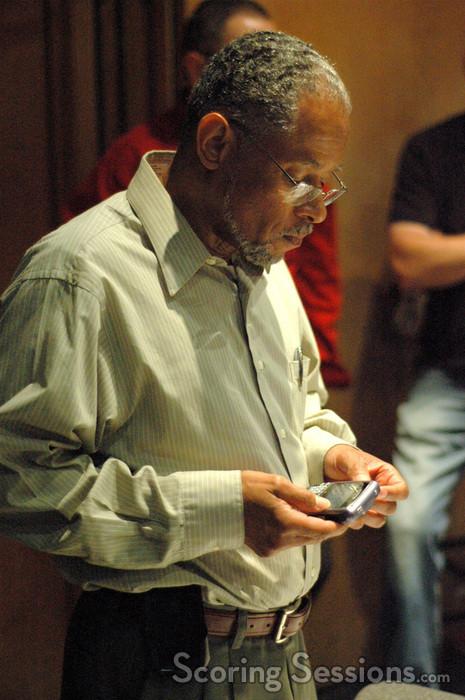 Music contractor Reggie Wilson