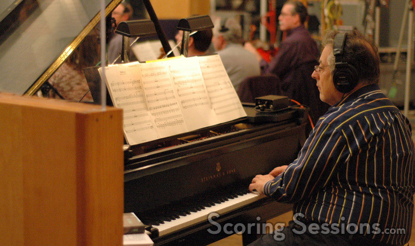 Mike Lang on piano