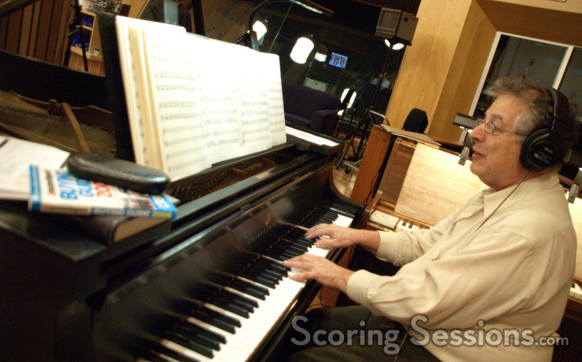 Mike Lang on the piano