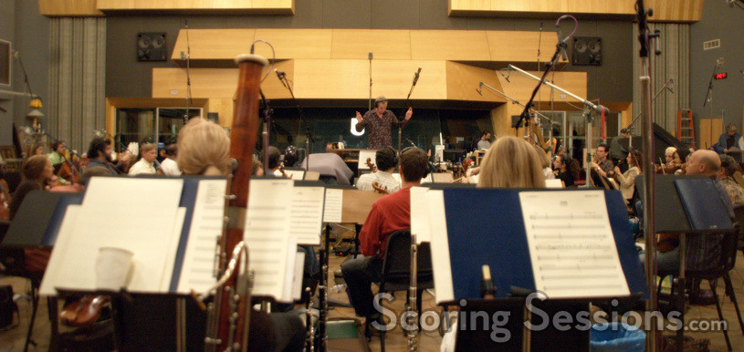 The Hollywood Studio Symphony performs on <i>Bride Wars</i>