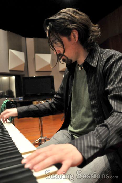 Bear McCreary on keyboard