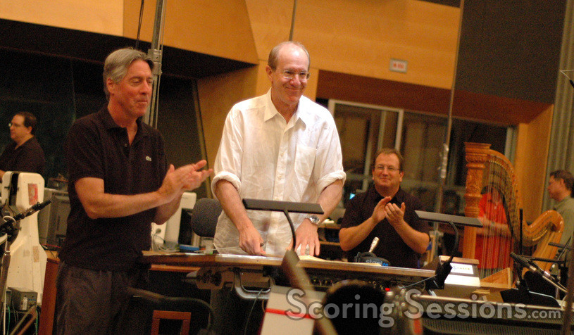 Alan Silvestri welcomes orchestrator William Ross to conduct the end title song