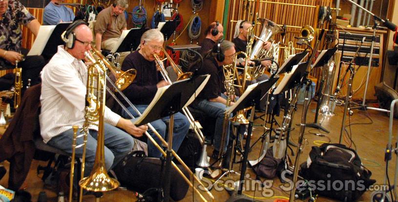 Alex Iles, Charlie Loper, Bill Reichenbach, Phil Teele and Doug Tornquist (Tuba)