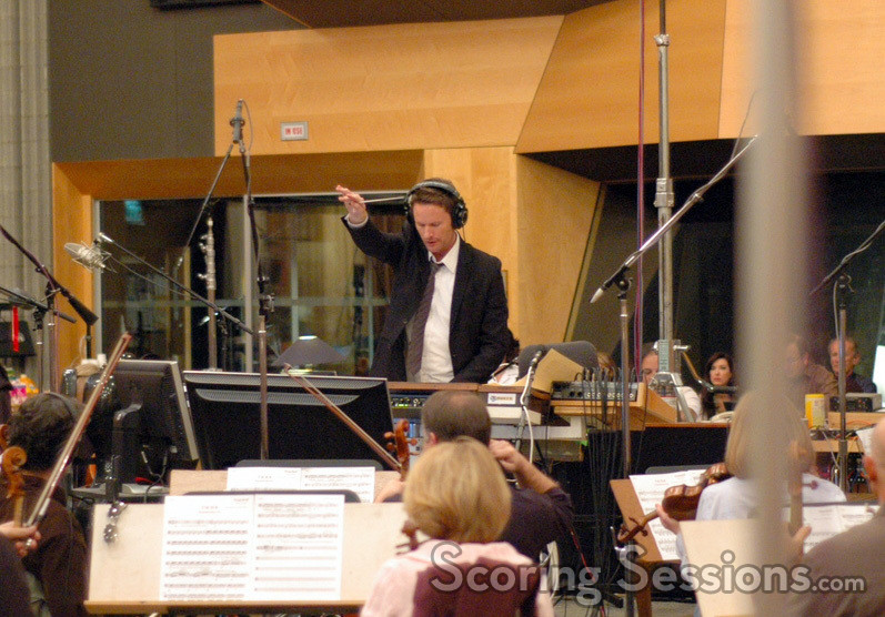 Brian Tyler conducts <i>Dragonball Evolution</i>