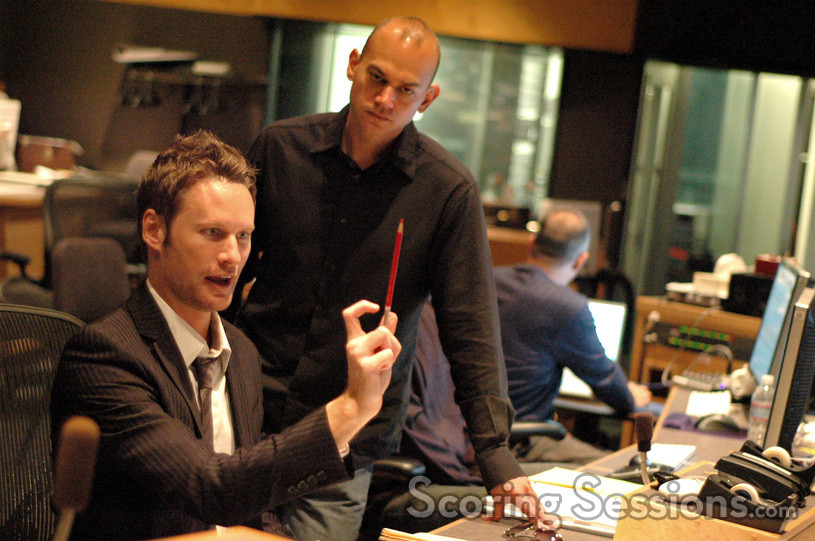 Composer Brian Tyler and music editor Joe Lisanti