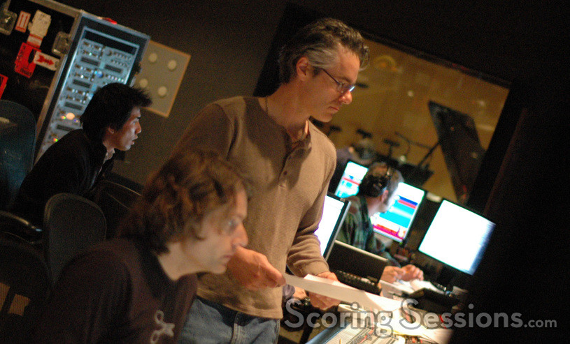 Score co-producer Buck Sanders and composer Marco Beltrami