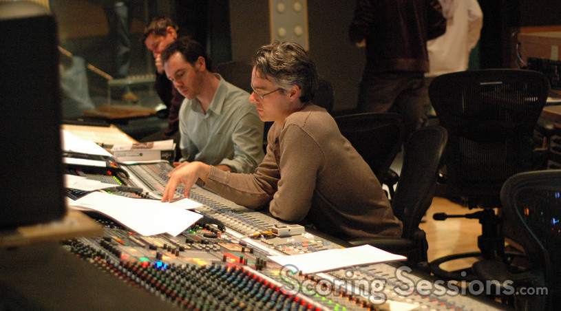Orchestrators Tim Davies and Ceiri Torjussen and composer Marco Beltrami