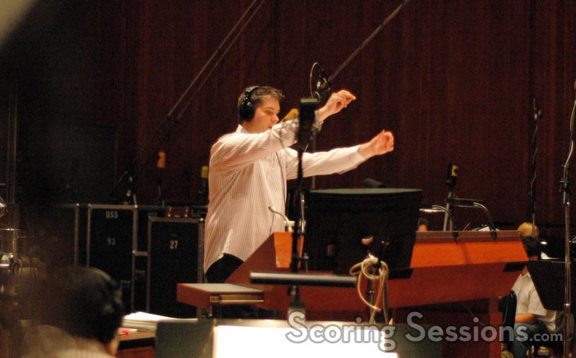 Jasper Randall conducts the Hollywood Studio Symphony