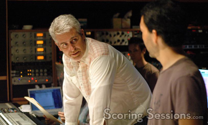 Scoring mixer Jeff Biggers talks with composer Steve Jablonsky