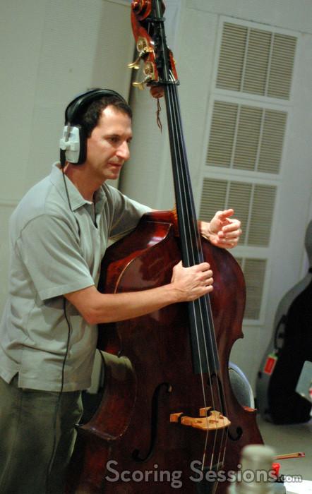 Nico Abondolo on bass