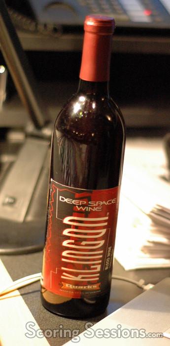 Klingon Blood Wine!