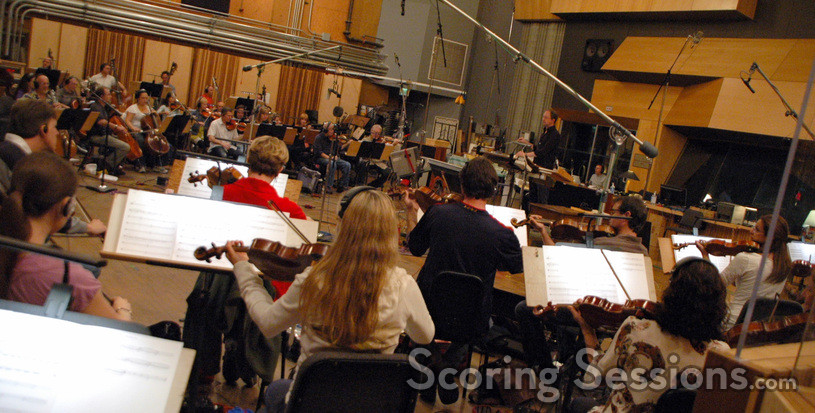 Rolfe Kent conducts the Hollywood Studio Symphony