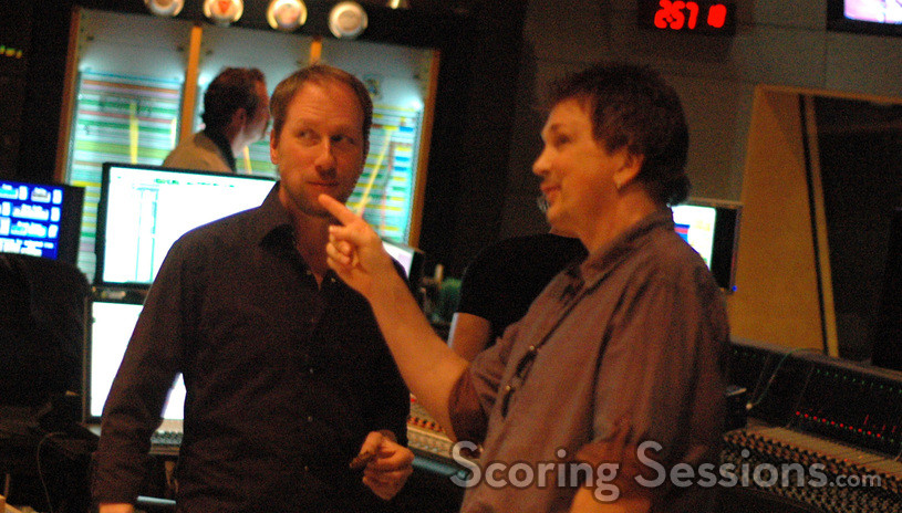 Composer Rolfe Kent and orchestrator Tony Blondal