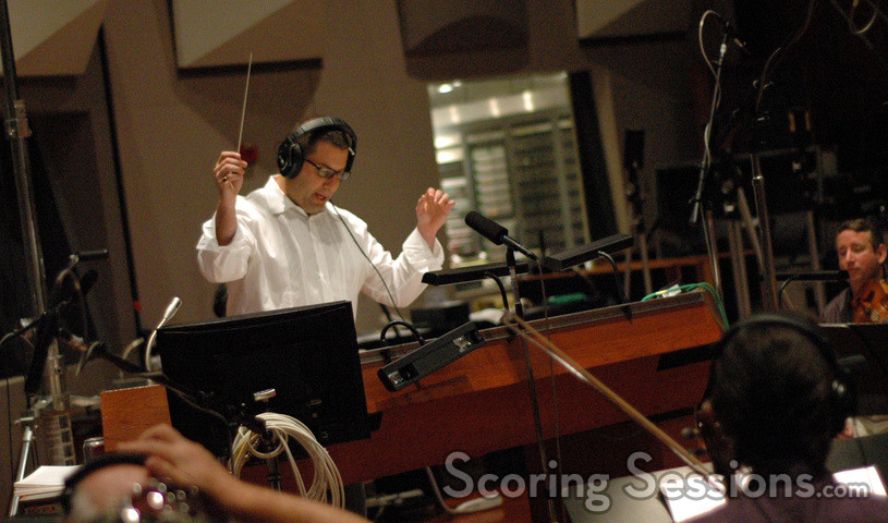Christopher Lennertz conducts the Hollywood Studio Symphony