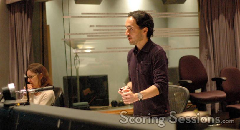 Orchestrator Suzette Moriarty and composer Steve Jablonsky