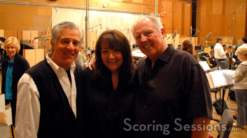 Director Michael Lembeck, BMI Film & TV Vice-President Doreen Ringer Ross, and composer George S. Clinton