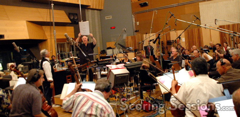 George S. Clinton conducts the Hollywood Studio Symphony