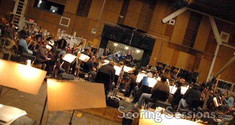 The Hollywood Studio Symphony plays on <i>Valentine's Day</i>