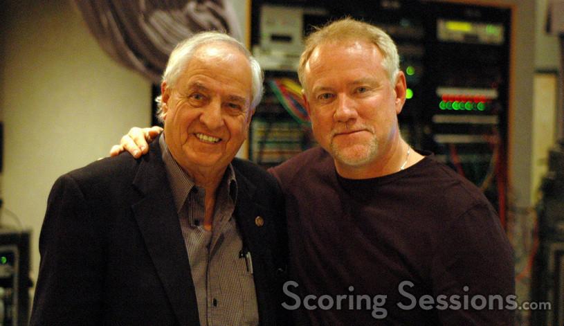 Director Garry Marshall and composer John Debney