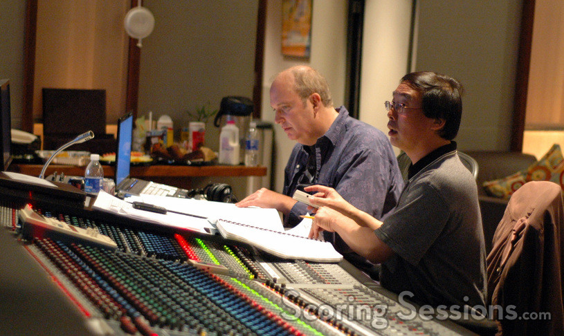Lead orchestrator Milton Nelson and composer Nathan Wang