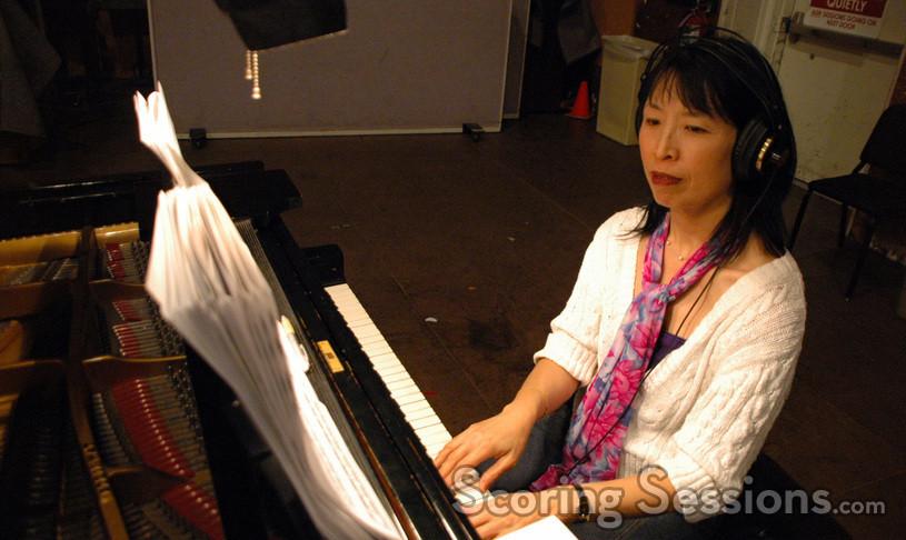 Gloria Cheng on piano