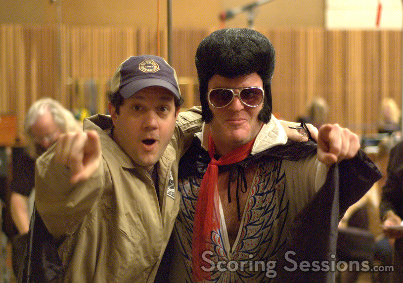 Michael Giacchino and the King of Rock