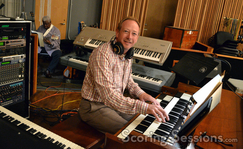 Mark LeVang on keyboards