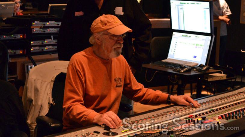 Scoring mixer Dan Walllin