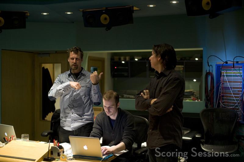 Boris Salchow, James McWilliam (assistant/score reader), Tim Davies (conductor, orchestrator)