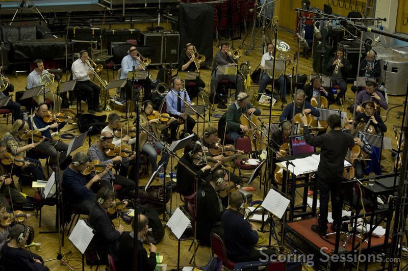 Tim Davies conducting