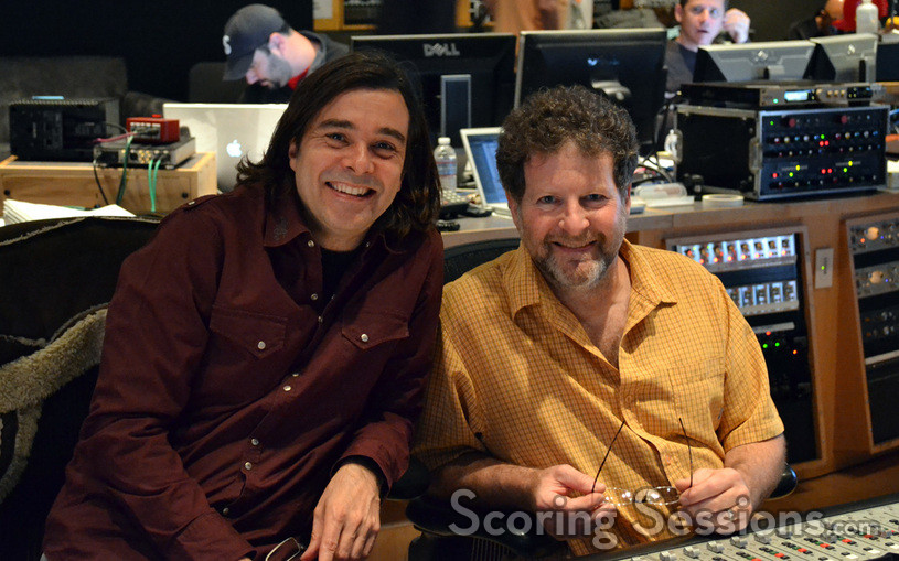 Composer Heitor Pereira and scoring mixer Frank Wolf
